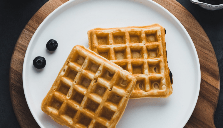 Recipe-Infused-Waffles-w-Sour-Diesel-Blueberry-Maple-Syrup