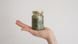 Recipe-Cannabis-Infused-Sundried-Tomato-Basil-Pesto